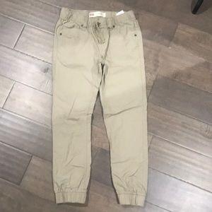 Levi's Boys Khaki Jogger Pants Chinos Size 10 reg